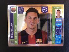 LIONEL MESSI UEFA Champions League 2014-15 Panini Sticker MINT BARCELONA PSA?