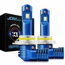 JDM ASTAR 2x 10000LM 9005 HB3 K1 6000K White LED Headlight Daytime Running Bulbs
