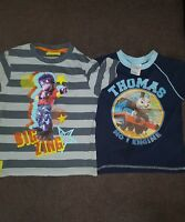 Boys 3-4 Years Bundle T-shirts tops Thomas & Friends BIG zing Monkey Next Day
