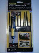 "General ""Ultra-Tech"" Swiss Needle File Set Woodworking/Metal 707476 FAST S&H!!"
