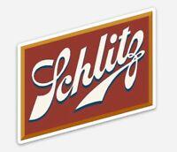 Schlitz Beer Label STICKER beer fridge toolbox Custom Magnet