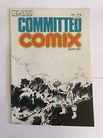 Committed Comix HUNT EMERSON Ar-Zak Underground UK Comics Very Rare comix