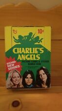 1977 CHARLIE'S ANGELS TOPPS Trading Cards-31 Card Packs in Original Box-SERIES 4