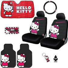 Nuevo Hello Kitty Core Asiento de Coche Volante Cubre Mats Set Accesorios BMW