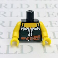 Lego Part Female Torso Green Dress Minifigure Spare *NEW* Woman Torso