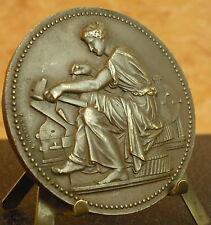 Belle medaglia Allegoria della lavoro nell'antichità da Chabaud 1946 Medal 铜牌 57
