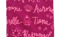 "DISNEY PRINCESS Fleece Throw 50"" x 60"" Blanket  New"