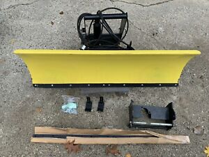 """John Deere 54"""" Snow Plow with Quick Hitch"""