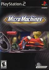 Micro Machines PS2 Playstation 2 Game Complete