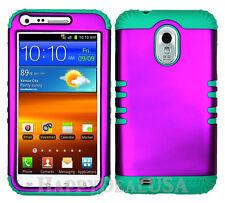 KoolKase Hybrid Cover Case for Samsung Galaxy S2 D710 R760 - Purple (R)