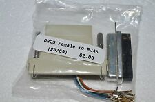 DB25 Female - RJ45 Adapter  (#23769)