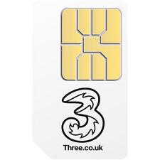 Three Mobile Broadband Ready to Go 1GB Preloaded Data Standard SIM for 3G Tablets
