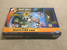 Angry Birds Star Wars Jenga Death Star Board Game Hasbro Toy Rare Action