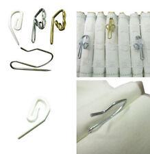 Barras, rieles y terminales de color principal plata metal para cortinas y estores