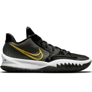 Nike Kyrie Low 4 Takashi Black Gold CW3985-001 Mens Basketball Shoes Sneakers