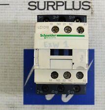SCHNEIDER ELECTRIC LC1D18 CONTACTOR G7 120V coil 50/60HZ