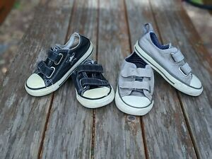 CONVERSE All Star Onestar Double Strap Low Top Sneaker LOT Toddler Size 7