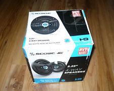 """Scosche HD5254 5.25"""" 4-Way Speaker Set 160W Peak/40W RMS"""