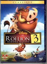 LE ROI LION 3 - n°71 - DVD - Neuf sous blister