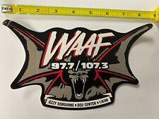 Ozzy Osbourne WAAF Bat Sticker promo Rare