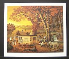 """Charles Wysocki Limited Edition Signed Print """"The Memory Maker"""" Photographer"""