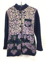 KOOI Knitwear - Damen Strickjacke aus Lammwolle Gr. XXL / 5