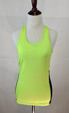 Ralph Lauren Shirt Womens Small NWT Neon Green Workout Support Tank Top Athletic
