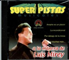 Super Pistas a La Manera de Luis Mirey    BRAND  NEW SEALED CD