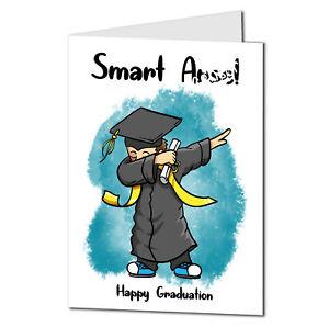 Funny Graduation Card Slightly Rude Graduate Card. Congratulations Card 19