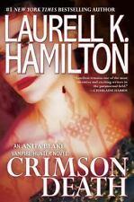 Crimson Death by Laurell K Hamilton Book Hardcover Anita Blake Vampire Hunter 25