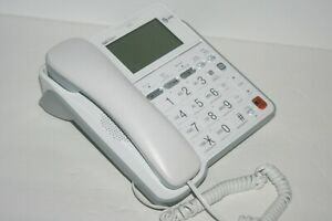 AT&T Large Button Corded Phone, Screen Backlit Display Answering Machine, CL4940
