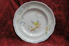 Longchamp Perouges Light Blue with Bird: Dinner Plate (s) AS IS Crazing, 10 1/4""