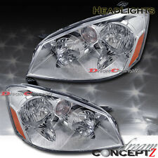 Chrome style headlights for 2005 2006 Nissan Altima S SL SE 4 dr Sedan ONLY pair
