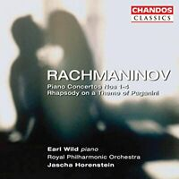 Sergey Rachmaninov - Rachmaninov: Piano Concertos Nos. 1-4; Rhapsody [CD]