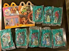 MY SCENE McDonald's Happy Meal Toys -  2004 RARE Complete set of 8 MIP