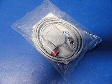 Spacelabs 700-0008-04 Trulink Ecg / Ekg Cable,Blindado,3 Lead ,Rojo,Aha ~ 13682