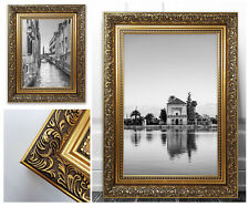 Ornate Gold Photo Picture Frame Antique Style Poster Shabby Chic Vintage French