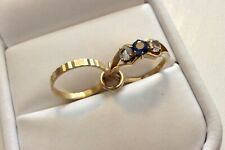 Lovely Ladies Vintage 9CT Gold ( Engagement & Wedding Ring ) CHARM