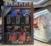 Hot Toys Miniature Figure VGMC008 Marvel's Spider-Man Armory Collectible Set NEW