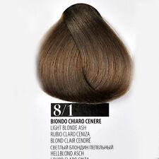 Tintura Capelli 8/1 Biondo Chiaro Cenere Farmagan Hair Color Tubo 100ml