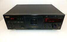 Teac V-3000 Stereo Cassette Deck Tapedeck Kassettendeck schwarz