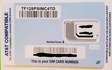 Tracfone SIM card •AT&T ATT Samsung Galaxy S5 S6 S7 S7 Edge S8 S8+ S8 Plus Note