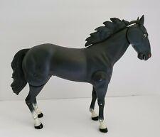 Vintage 1973 Gabriel Lone Ranger Black Horse Smoke Butch Cavendish Jointed Toy
