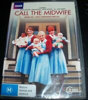 Call The Midwife Series Six 6 + 2016 Christmas Special (Aust Region 4) DVD - NEW