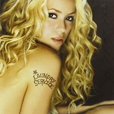 Shakira Laundry Service Washed and Dried Limited Edition- Music CD Album & DVD