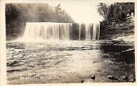 C35/ Newberry Michigan Mi Real Photo RPPC Postcard c20s Tahquamenon Falls