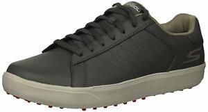 Skechers Men's Drive 4 Golf Shoe, Charcoal/Red, Size 11.0 hoNR