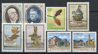 Luxembourg 1990 Mi. 1245-1252 Neuf ** 100% Personnalité, Art, vues