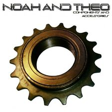 "N&T 18T 34mm 1/2"" x 1/8"" Brown BMX Freewheel Bicycle Single Speed Cog Sprocket"