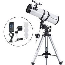 Visionking 150 - 1400mm EQ Reflector Newtonian Astronomical Telescope & Motor 6
